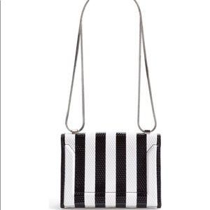 3.1 Phillip Lim Soleil Striped Mini Shoulder Bag